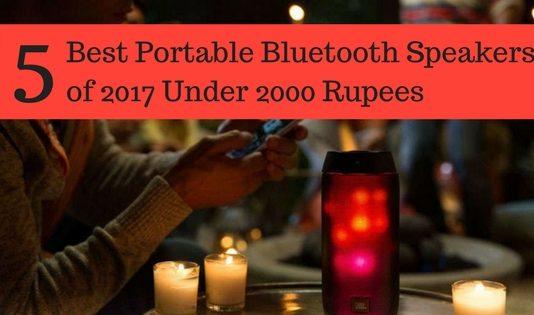 Best Portable Bluetooth Speakers Under 2000 Rupees
